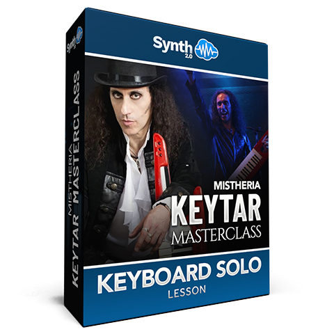 Mistheria Keytar Masterclass - Keyboard Solo Shredding Techniques