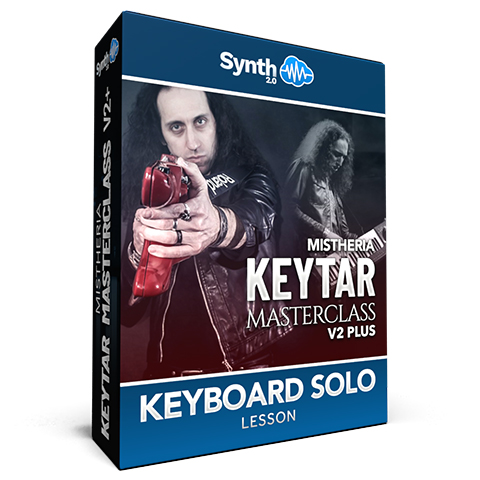 Mistheria Keytar Masterclass V2 Plus - Keyboard Solo Shredding Techniques