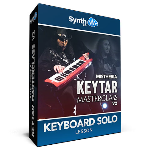 Mistheria Keytar Masterclass V2 - Keyboard Solo Shredding Techniques