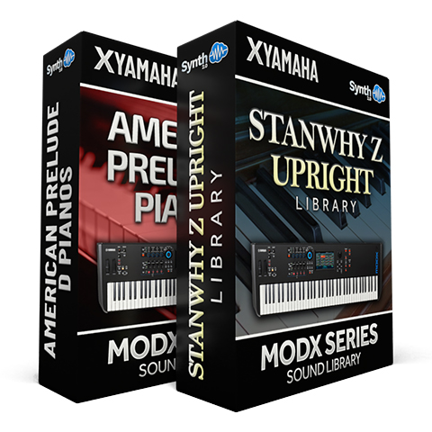 SCL338 - ( Bundle ) - American Prelude D Pianos + StanWhy Z Upright - Yamaha MODX