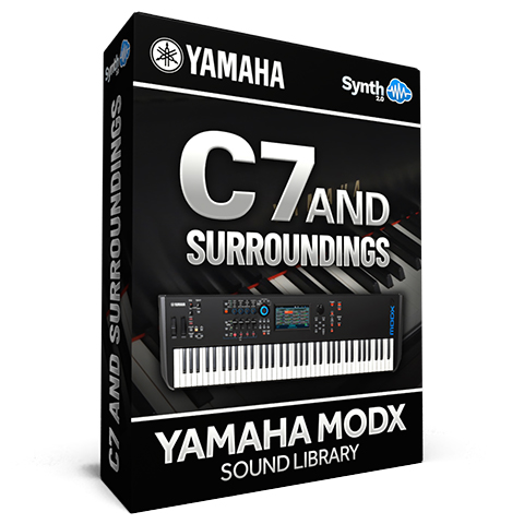 SCL126 - C7 and surroundings - Yamaha MODX