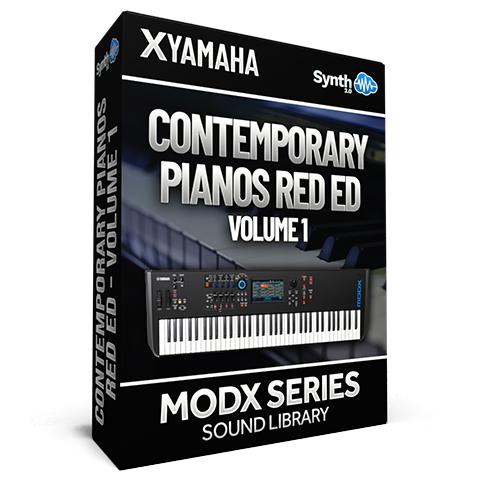 SCL194  - Contemporary Pianos Red Ed. V1 - Yamaha MODX