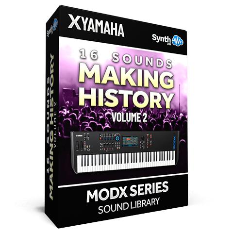 SCL370 - 16 Sounds - Making History Vol.2 - Yamaha MODX
