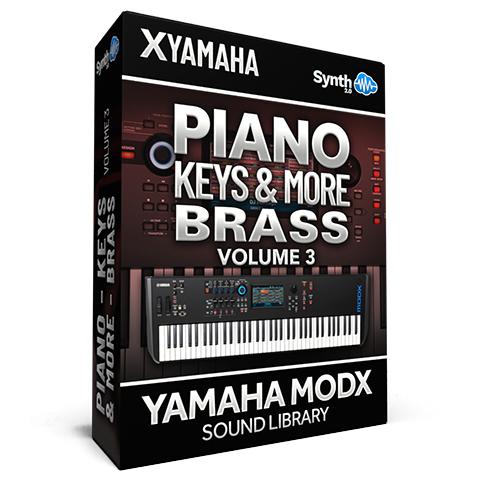 SCL343 - Piano Keys & More - Brass Vol.3 - Yamaha MODX