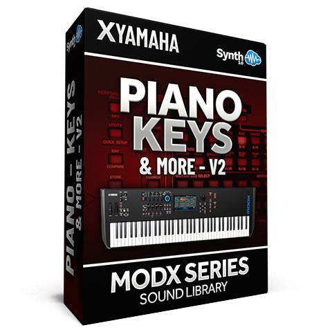 SCL172 - Piano Keys & More Vol.2 - Yamaha MODX