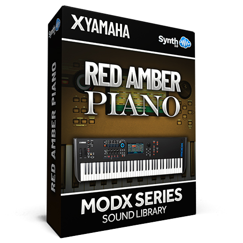 SCL316 - Red Amber Piano - Yamaha MODX