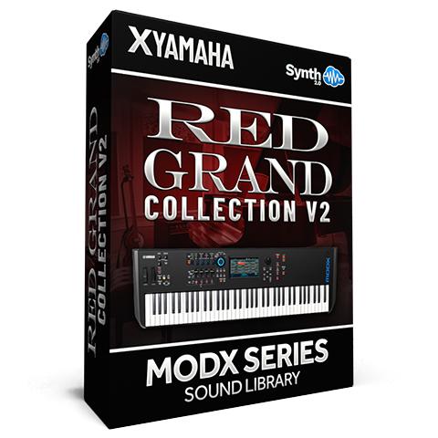 SCL328 - ( Bundle ) - Red Grand Collection V2 - Yamaha MODX