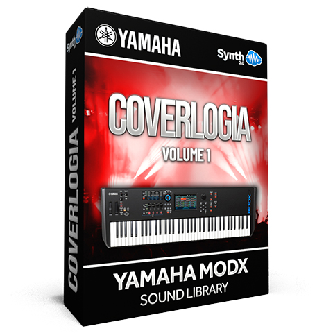 SCL281 - Coverlogia Vol.1 ( Pink Floyd + Queen + Toto + 80's Cover ) - Yamaha MODX