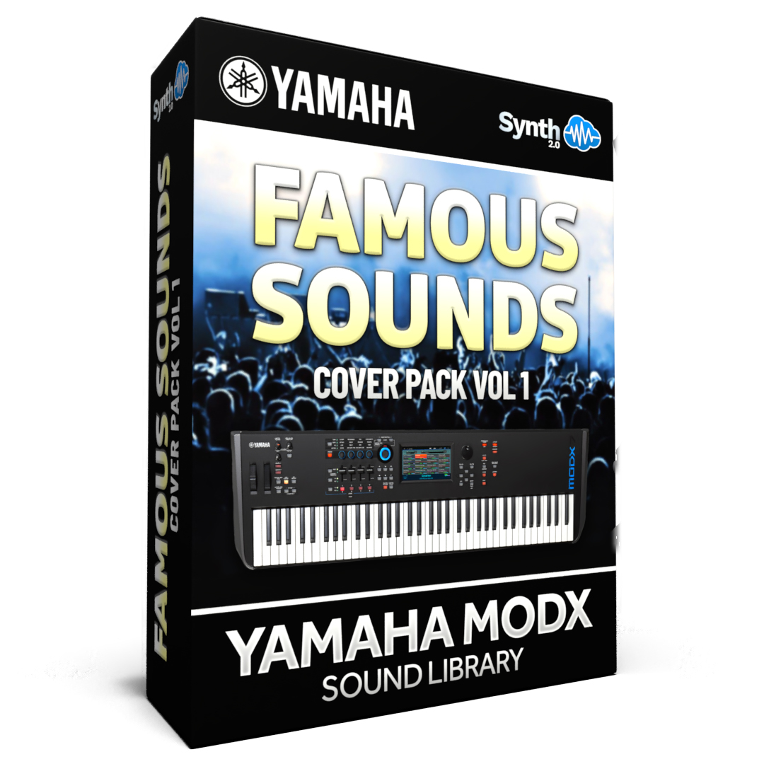 SCL279 - Famous Sounds Cover Pack Vol.1 - Yamaha MODX