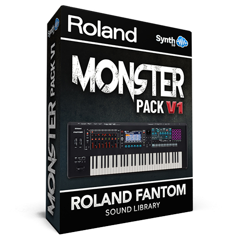 SCL257 - Monster Pack V.1 - Roland Fantom