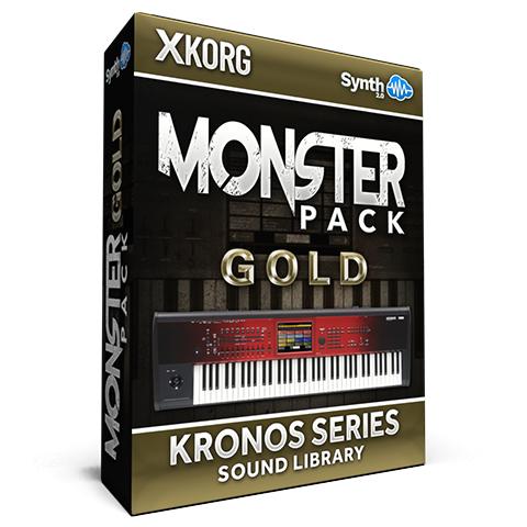 SCL191 - Monster Pack Gold - Korg Kronos Series