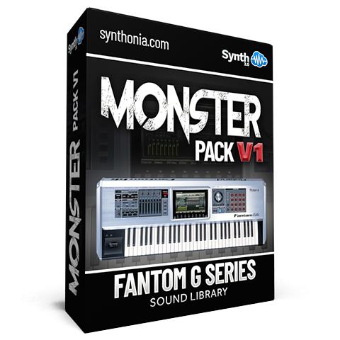 LDX108 - Monster Pack V1 - Fantom G