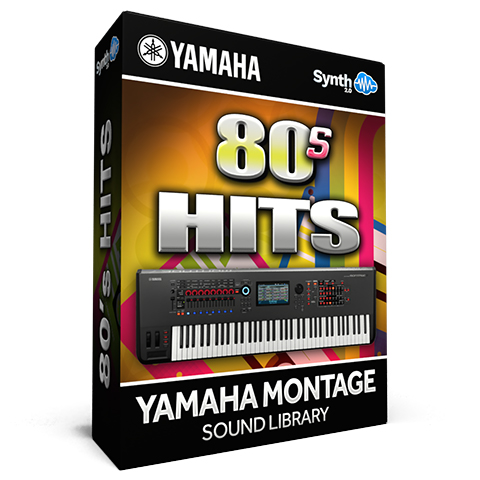 SCL304 - 80's Hits - Yamaha MONTAGE
