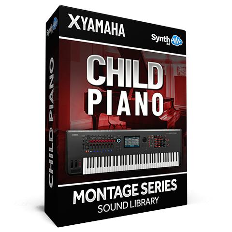 SCL322 - Child Piano - Yamaha MONTAGE