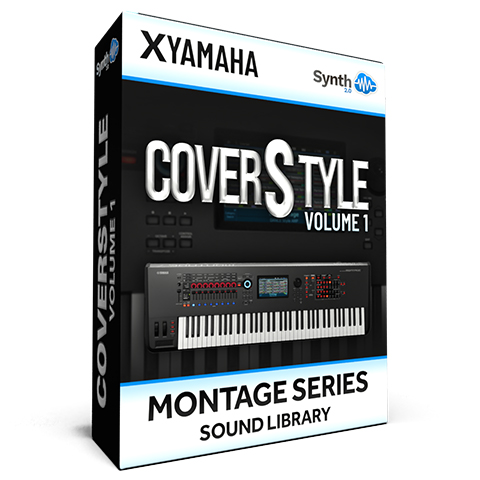 SCL298 - ( Bundle ) - CoverStyle Vol.1 - Yamaha MONTAGE
