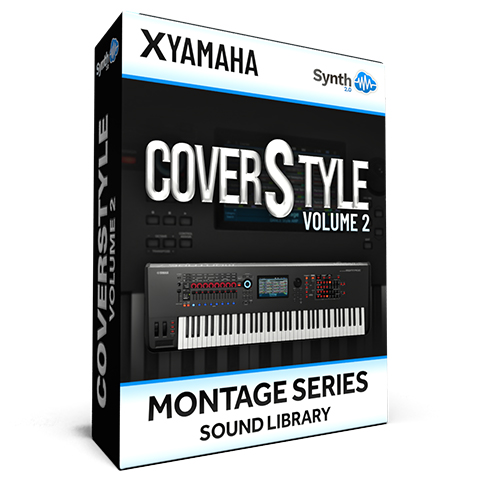SCL305 - ( Bundle ) - CoverStyle Vol.2 - Yamaha MONTAGE