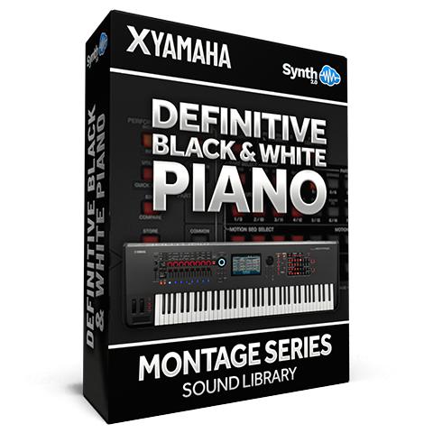 SCL181 - Definitive Black & White Piano - Yamaha MONTAGE