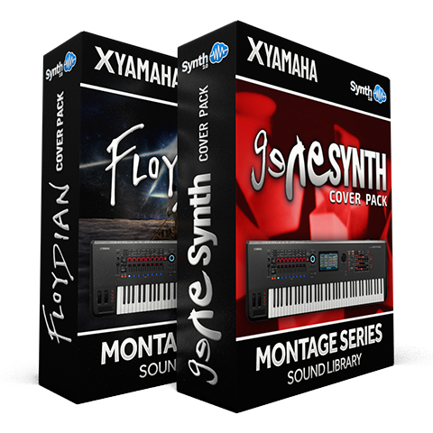 SCL340 - ( Bundle ) - Floydian Cover Pack + Genesynth Cover Pack - Yamaha MONTAGE