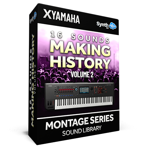 SCL370 - 16 Sounds - Making History Vol.2 - Yamaha MONTAGE