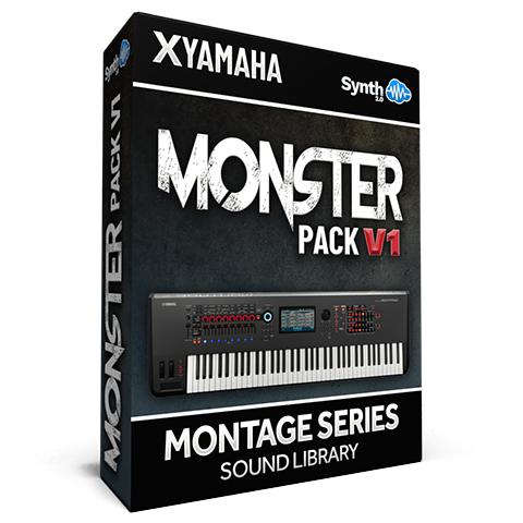 LDX123 - Monster Pack V.1 - Yamaha MONTAGE