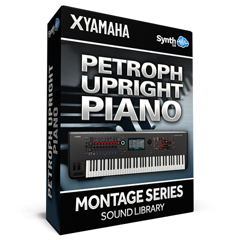 SCL184 - Petroph Upright Piano - Yamaha MONTAGE