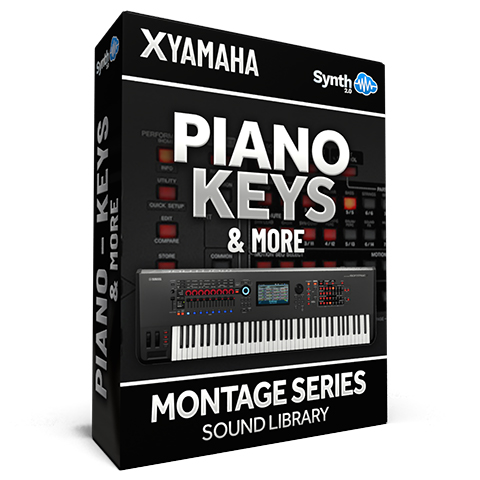 SCL130 - Piano Keys & More - Yamaha MONTAGE