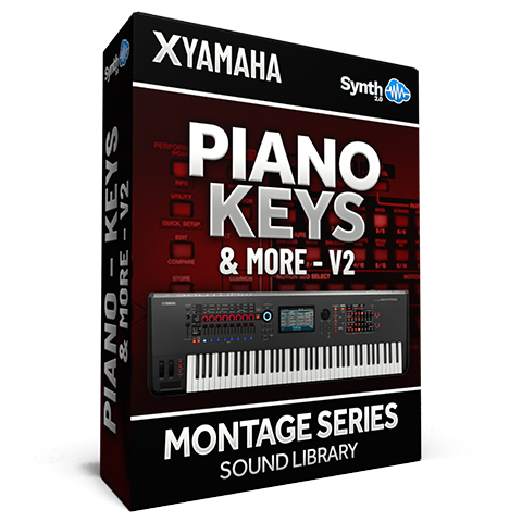 SCL172 - Piano Keys & More Vol.2 - Yamaha MONTAGE