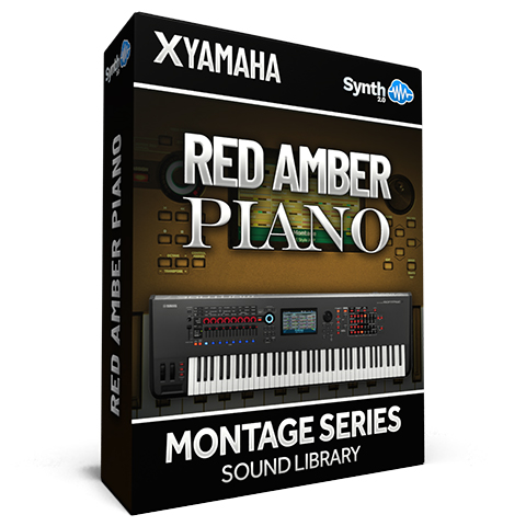 SCL316 - Red Amber Piano - Yamaha MONTAGE
