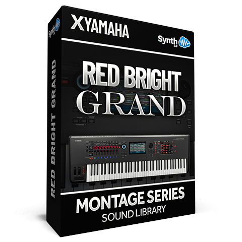 SCL315 - Red Bright Grand - Yamaha MONTAGE