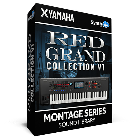 SCL318 - ( Bundle ) - Red Grand Collection V1 - Yamaha MONTAGE