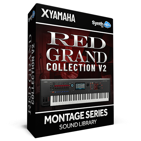 SCL328 - ( Bundle ) - Red Grand Collection V2 - Yamaha MONTAGE