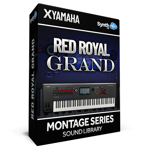 SCL314 - Red Royal Grand - Yamaha MONTAGE