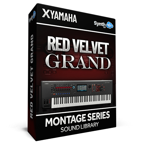 SCL313 - Red Velvet Grand - Yamaha MONTAGE
