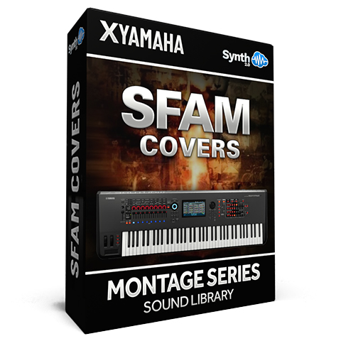 SCL163 - Sfam Covers - Yamaha MONTAGE