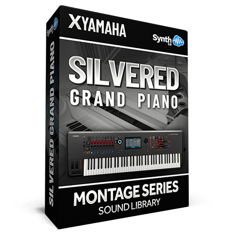 SCL321 - Silvered Grand Piano - Yamaha MONTAGE