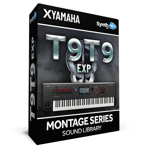 SCL285 - T9t9 EXP Cover Pack - Yamaha MONTAGE