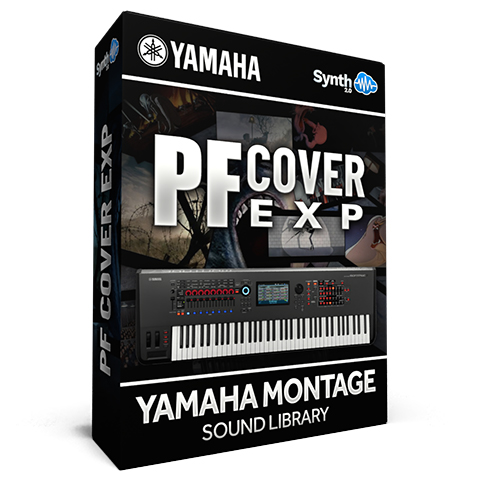 SCL306 - PF Cover EXP - Yamaha MONTAGE