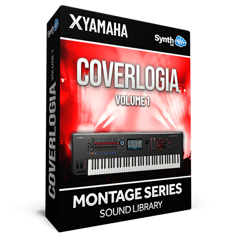 SCL281 - Coverlogia Vol.1 ( Pink Floyd + Queen + Toto + 80's Cover ) - Yamaha MONTAGE