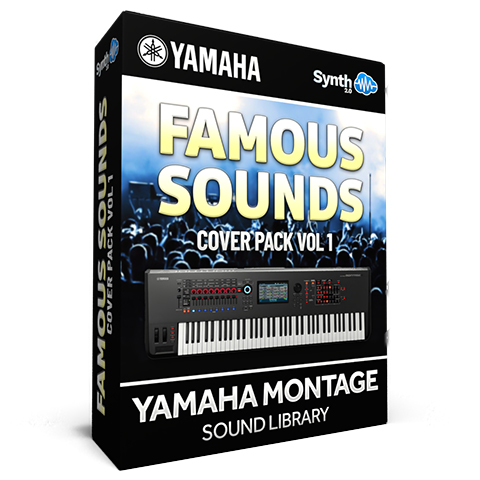 SCL279 - Famous Sounds Cover Pack Vol.1 - Yamaha MONTAGE
