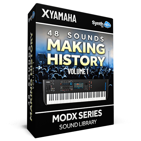 SCL279 - 48 Sounds - Making History Vol.1 - Yamaha MODX