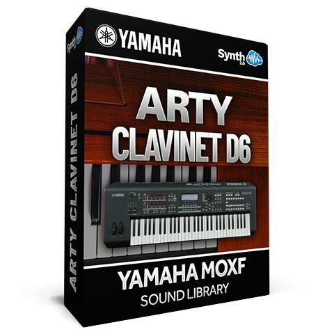 SCL296 - Arty Clavinet D6 - Yamaha MOXF (512 mb RAM)