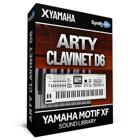 SCL296 - Arty Clavinet D6 - Yamaha Motif XF (512 mb RAM)