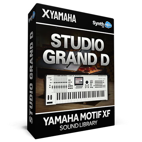 SCL295 - Studio Grand D - Yamaha Motif XF (512 mb RAM)