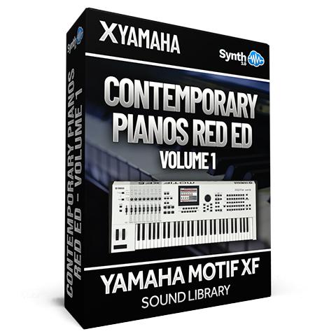 SCL194  - Contemporary Pianos Red Ed. - Yamaha Motif XF (512 mb RAM)