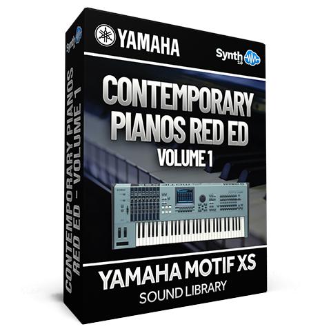 SCL194  - Contemporary Pianos Red Ed. - Yamaha Motif XS (512 mb RAM)