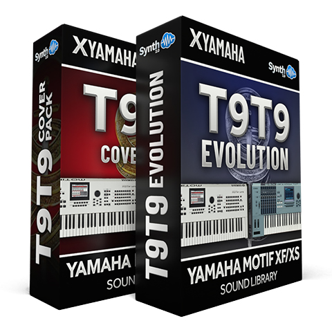 SCL112 - ( Bundle ) - T9t9 Evolution + T9t9 Cover Pack - Yamaha Motif XS / XF