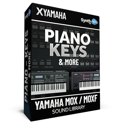SCL130 - Piano Keys & More - Yamaha MOXF