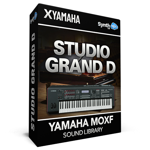 SCL295 - Studio Grand D - Yamaha MOXF (512 mb RAM)