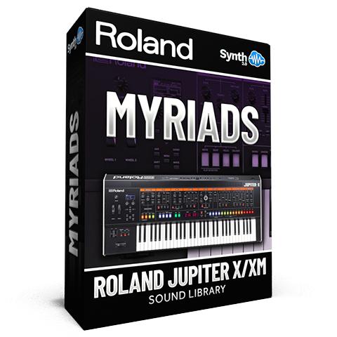 LFO010 - Myriads - Roland Jupiter X / Xm