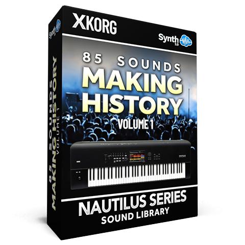 SCL152 - 85 Sounds - Making History Vol.1 - Korg Nautilus
